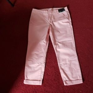 Chinos  crop 34 and half In with cuff